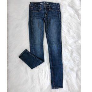 3/ $50 American Eagle Jegging Denim Skinny Jeans